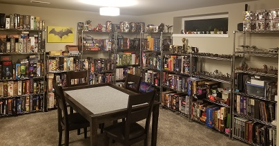 The Delve. The Tabletop Gaming Room at Conesy's Home
