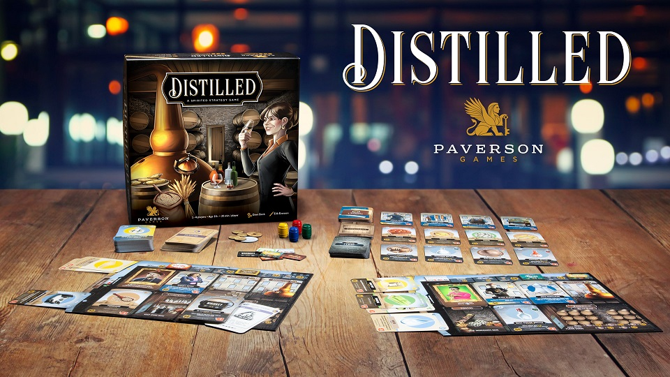 Image of Distilled Game Box and components