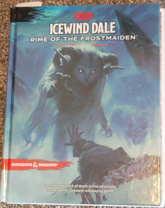 image of Icewind Dale book cover