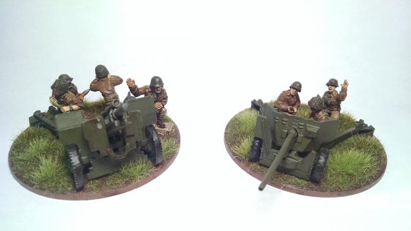 Artillery and AT Guns