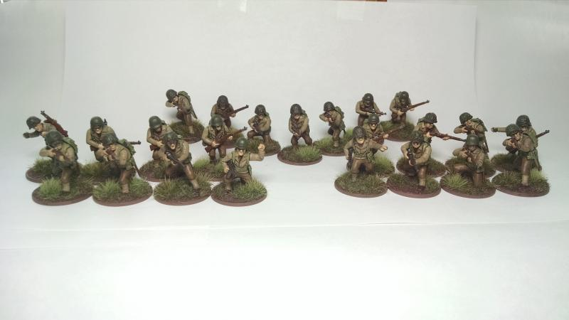 Regular/Veteran Infantry