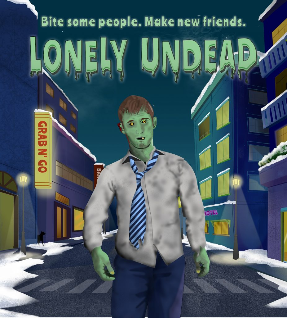 Lonely Undead Game Box