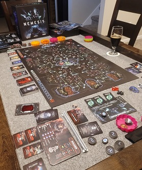 Nemesis Game Play set-up
