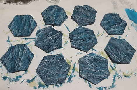 Episode 82: Terraforming Mars Ocean Tiles that were 3D printed and painted