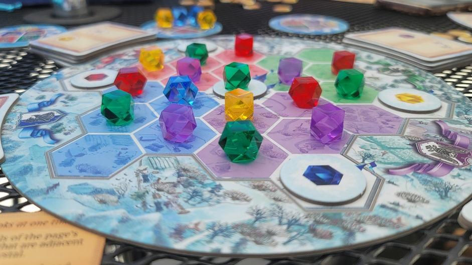 Winter Queen in Game Play