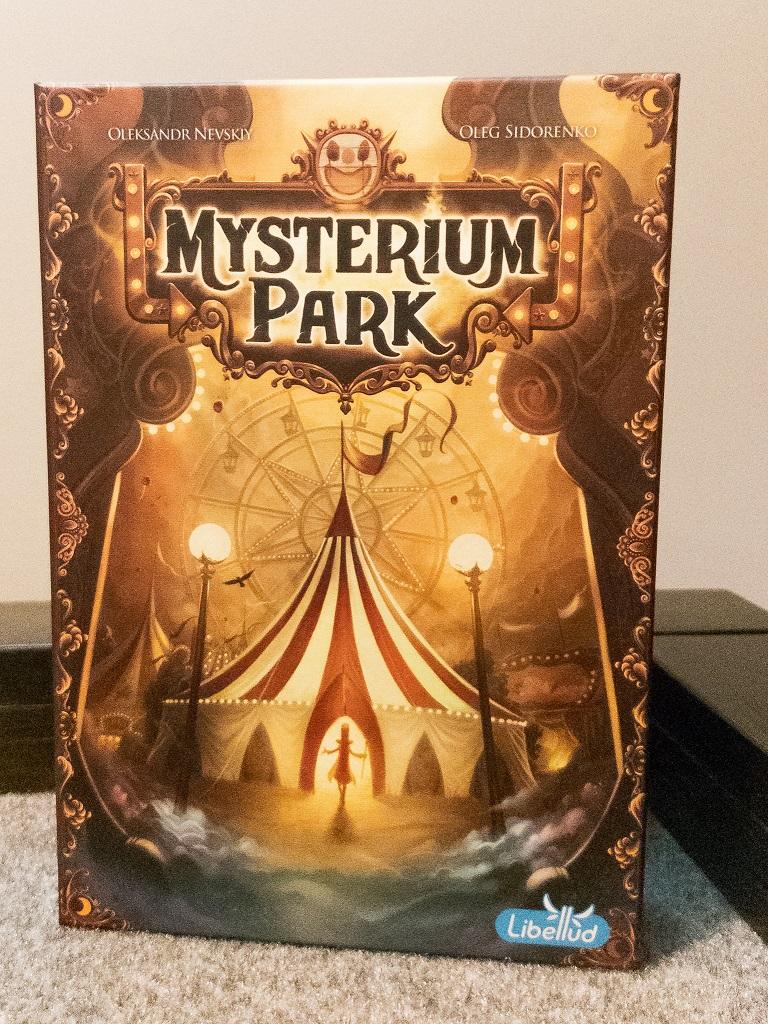 Image of Mysterium Park Game Box