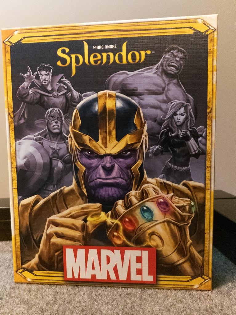 Image of Splendor Marvel Game Box