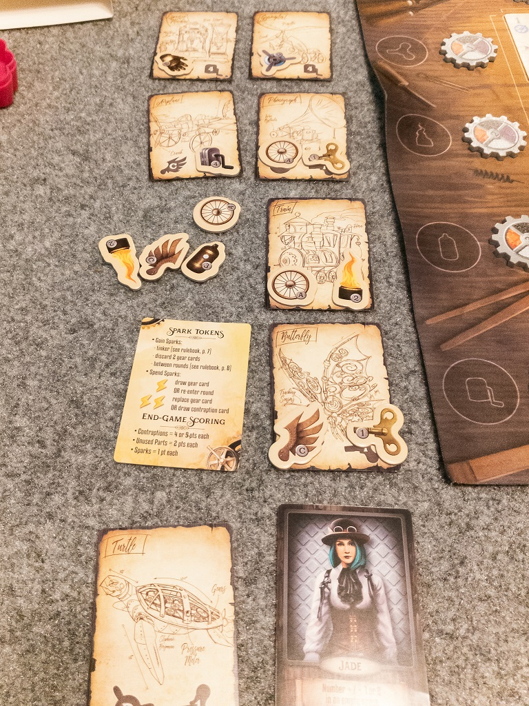 Image of Board Game Brunch: Suzanne's Contraptions