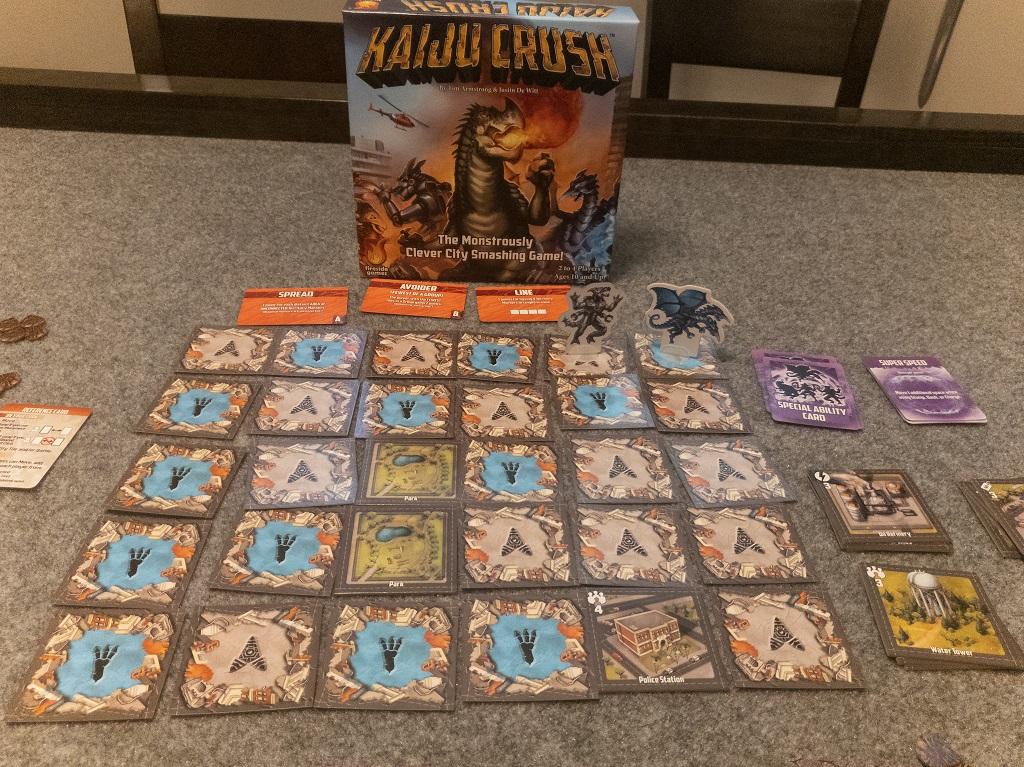 Image of Kaiju Crush End Game State