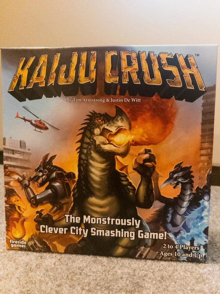 Image i of Kaiju Crush Game Box