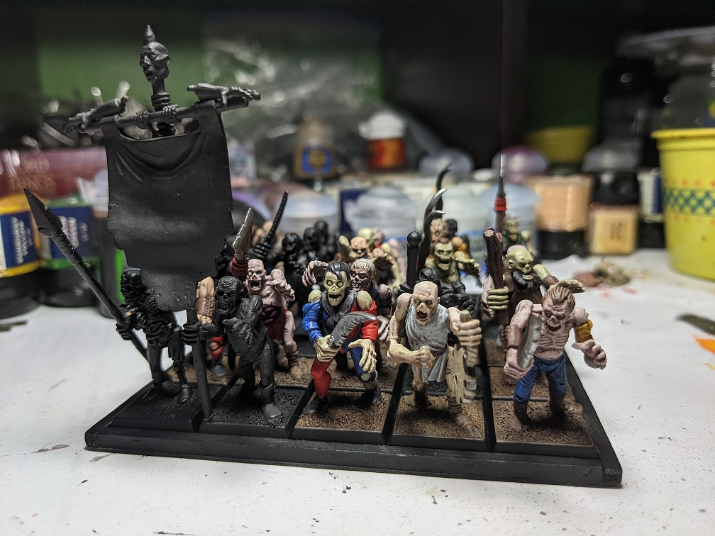 Image is of Brian's Zombie Army