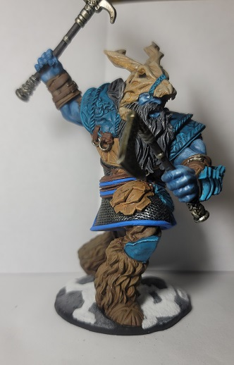 Image is of D&D Frost Giant