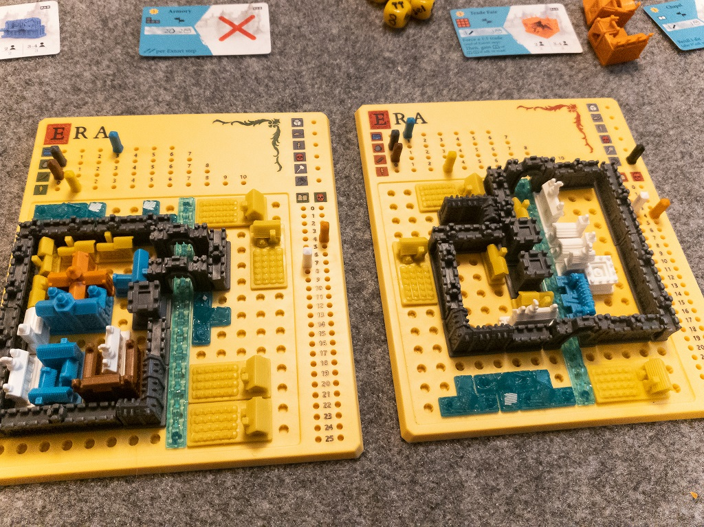Image is of ending board