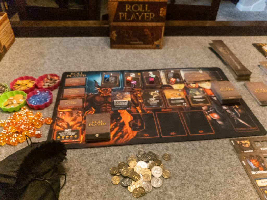 Image of Main Board Set-up for Roll Player