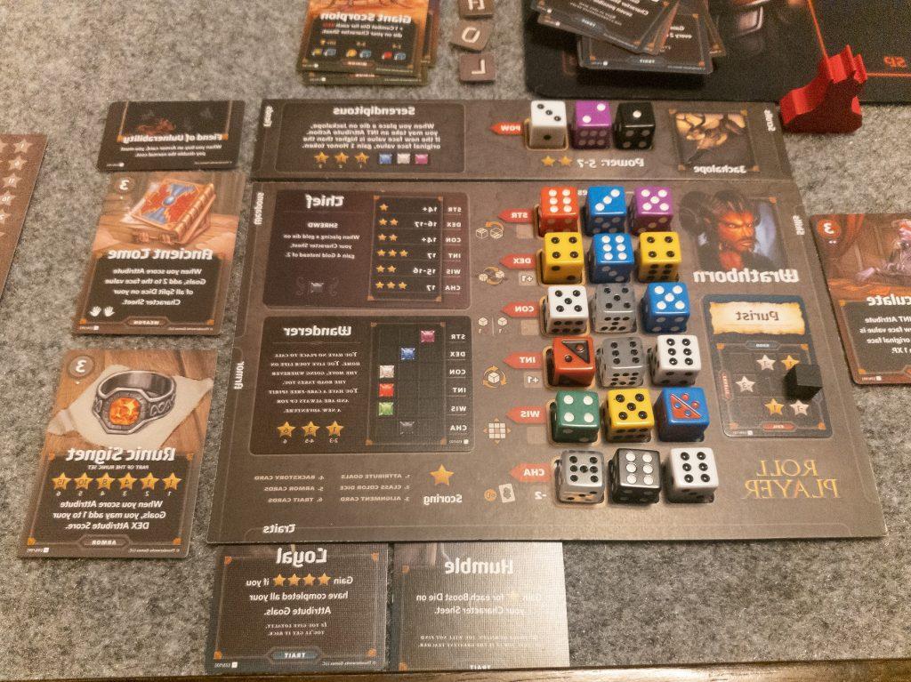 Image of Winning Character Board