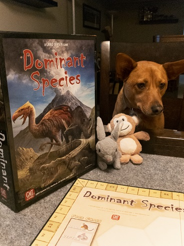Image of Dominant Species with Dog and Toys