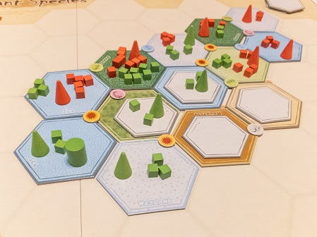 Image of Mid-Game Play for Dominant Species