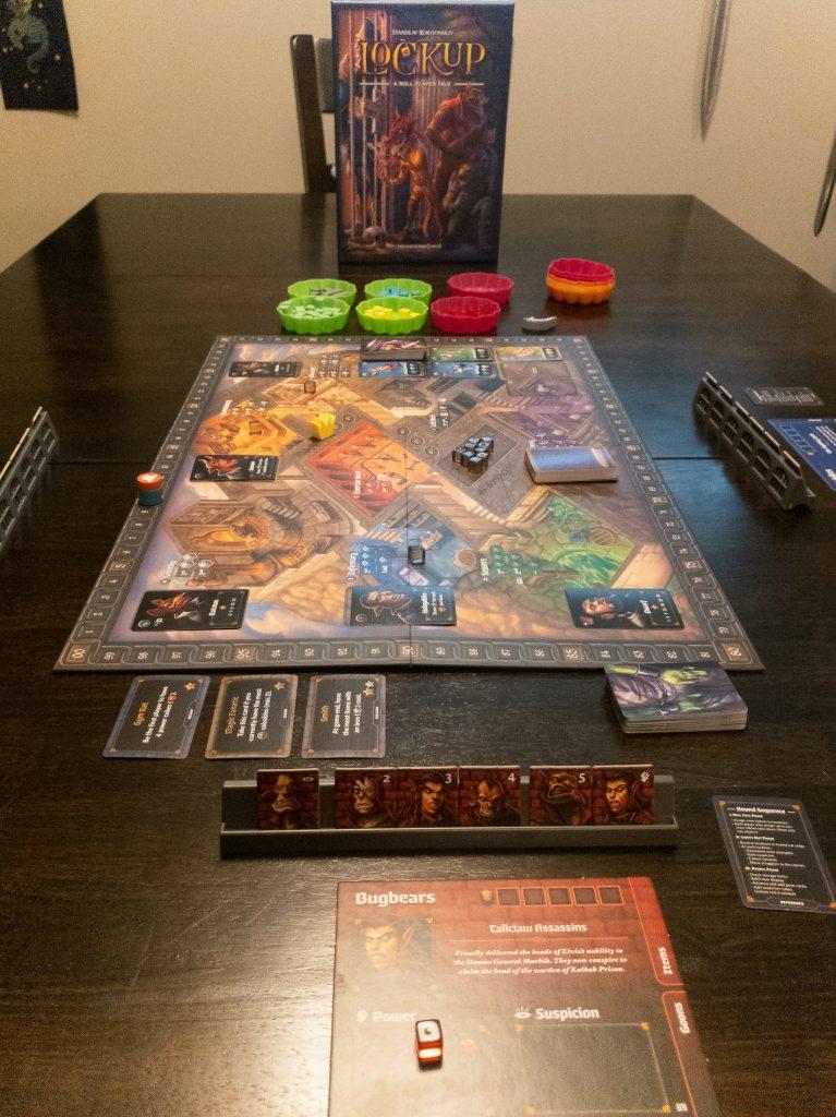 Lockup Game Set-up