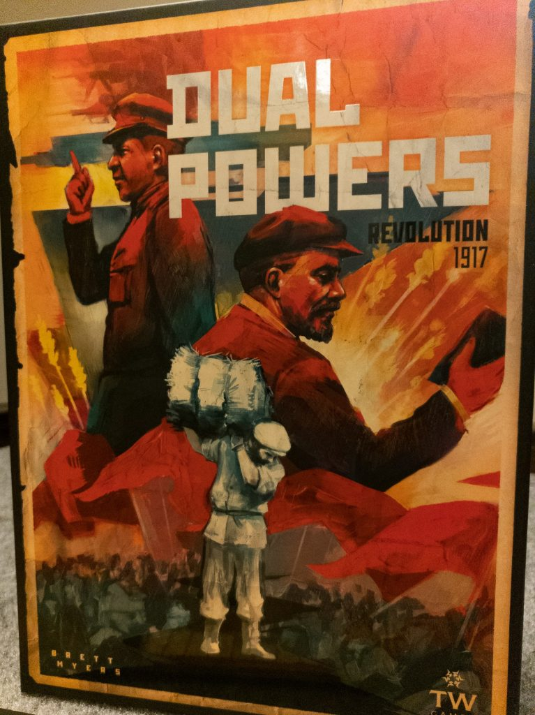 Image of Dual Powers Game Box from Board Game Brunch