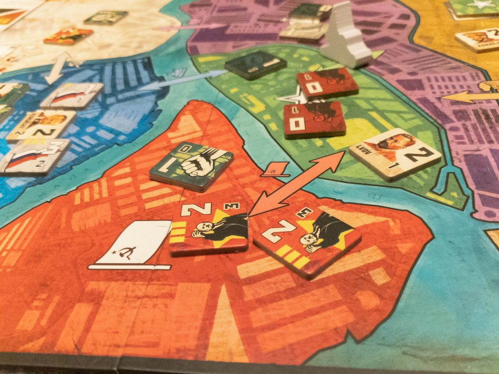 Image of Dual Powers Game Play