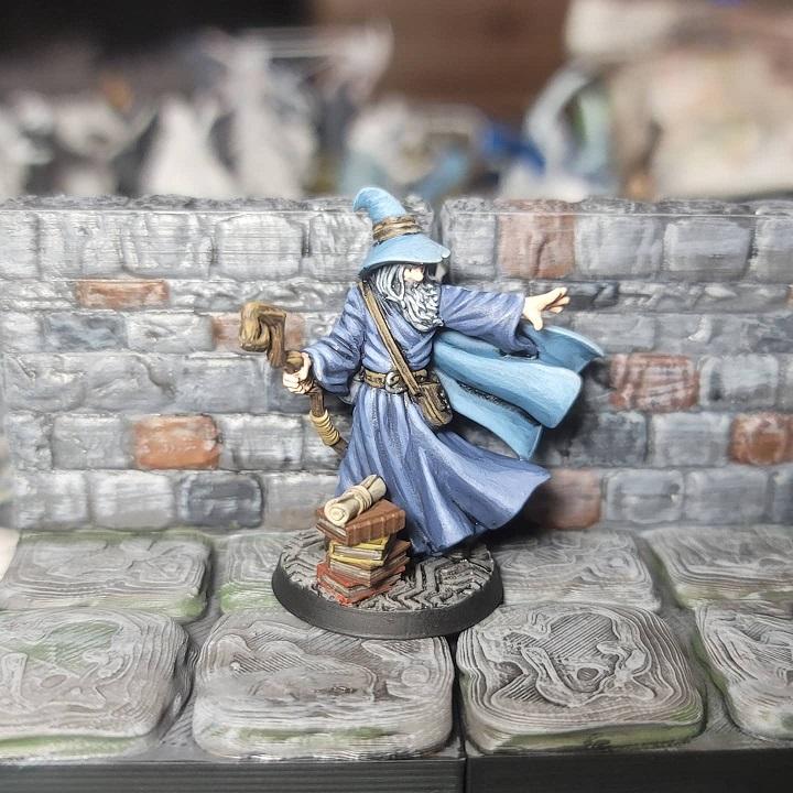 image of Swifty - Human Wizard miniature figure