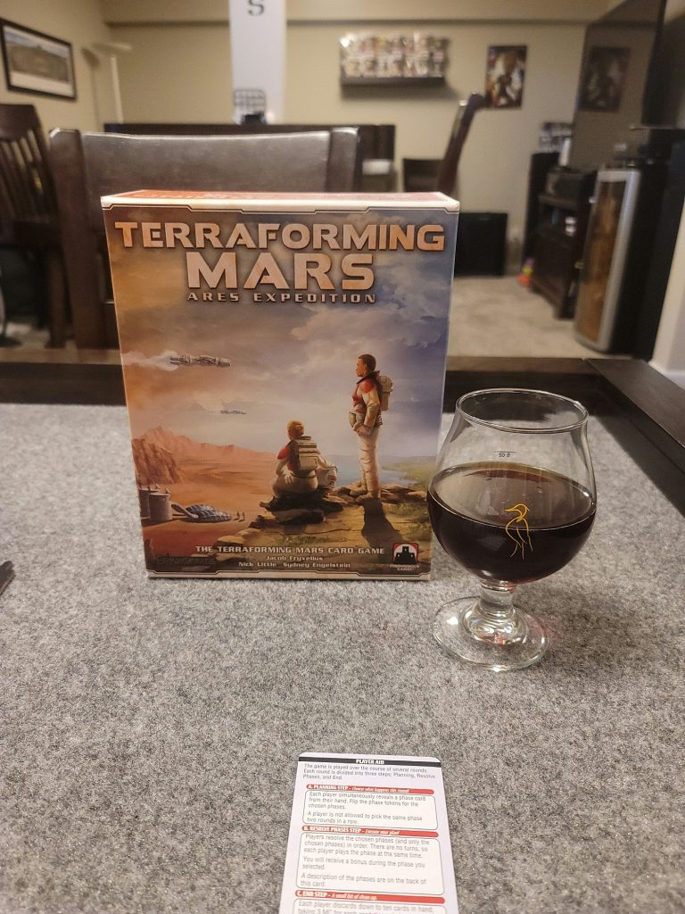 Image of Terraforming Mars - Ares Expedition Game Box