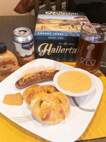 Oktoberfest Food and Game